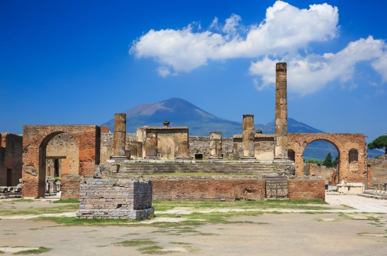 Pompeii and the the Amalfi Coast